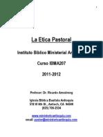Curso de Etica Pastoral RA 2010 Alumno