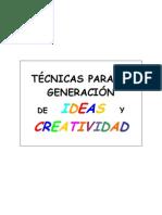 12 técnicas de creatividad