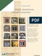 Traditional Casement Windows