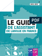 Le guide de l´Assistant de Langue en France