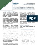 2012 11 27 SESION 01 CONTABILIDAD DE COSTOS HISTÓRICOS