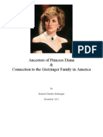 Ancestors of Princess Diana