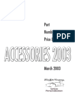 2003 Ford Accessories Catalog