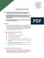 mg abstenteeism