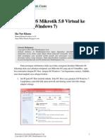 Mikrotik ke VMware