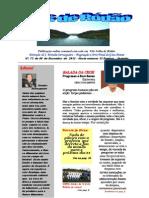 Ecos de Ródão - Nº. 73   de 06 de   Dezembro  de 2012