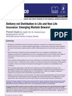 Delivery not Distribution in Life and Non-Life Insurance