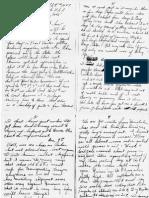 1945 Gordon's Letter Home