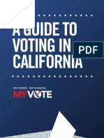 A Guide to Voting in CA