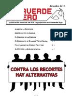 Villaverde Obrero - Número 18 - Diciembre 2o12
