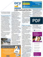 Pharmacy Daily for Mon 17 Dec 2012 - Australia\'s back pain, Phebra\'s new plant, Heat heart risk and much more...