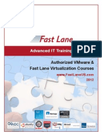 Fast Lane VMware Training 2012