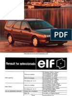 Manual del Renault Laguna Nevada 1997