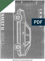Manual de piezas de Renault 11 de 1984