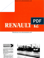 Manual del usuario del Renault 12 de 1984