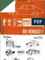 Despiece de Renault 12 de 1971