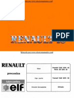 Manual del usuario del Renault 18 de 1990
