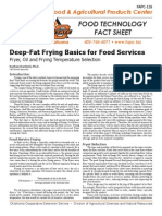 Deep Fat Frying