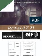 Manual del usuario del Renault 21 de 1994