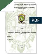 Propiedades de las Proteínas y Actividad Enzimática en Productos Agroindustriales