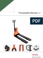 Toyota Material Handling Transpaleta de Pesaje Bt Transpaleta de Pesaje Bt 684546