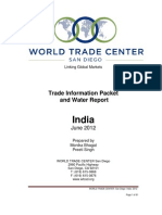 110811 India Country and Water Report