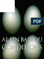 66459516 Alain Badiou Conditions