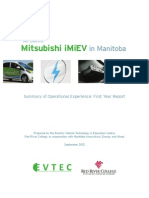 iMiEV Report