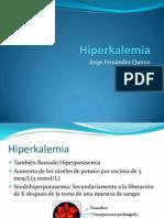 Hiperkalemia. Hiperpotasemia