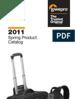Lowepro - 2011 Spring Product Catalog