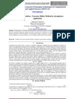 Acceleration of Predictor –Corrector Halley Method in Astrophysics Application