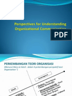 Perspectives for Understanding Organizational Communication