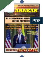 ARAKAN - US PRESIDENTHISTORIC VISIT TO BURMA