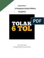 Indepth Report-Belajar Dari Kampanye on-OfF %23Tolak6Tol