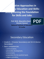 WM Bandara - Innovative Approaches in Secondary Education and Skills