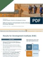 Michelle Engmann - Innovative Secondary Education for Skills Enhancement