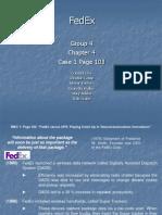 Chpt4 MIS-FedEx Case