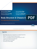 body structures and chassis optimization