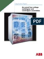 Cuaderno Tecnico No 6 Arc-Proof LV Switchgear (1SDC007105G0201)