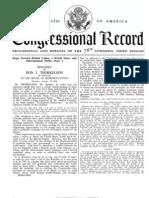 Us Congressional Record 1940 British Israel World $1