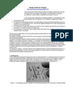 Design Guide for Forging s