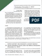 Balfour+Declaration+and+World+Zionist+Organization+Zionist+Manifesto+Issued+After+the+Balfour+Declaration