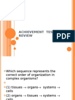 Achievement Test Review