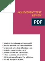 Achievement Test Review Part 2