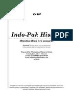 Indo-Pak History Objective Book