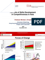Michael Enright - The Role of Skills Development in Competitiveness in Asia