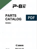 Canon LBP-8iv Parts Manual