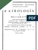 Patrologia 1 - Johannes Quasten