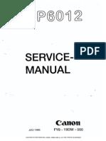 Canon np6012 service manual immediate download.