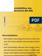 bioavailabilitas dan bioekivalensi